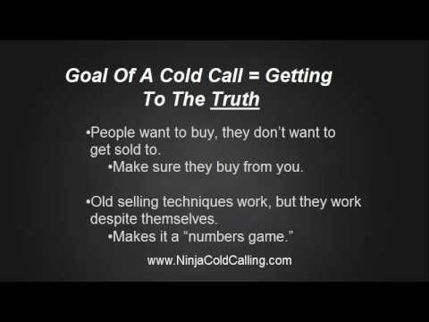 How to make cold calling effective and stress free. Some tips and tricks worth considering.