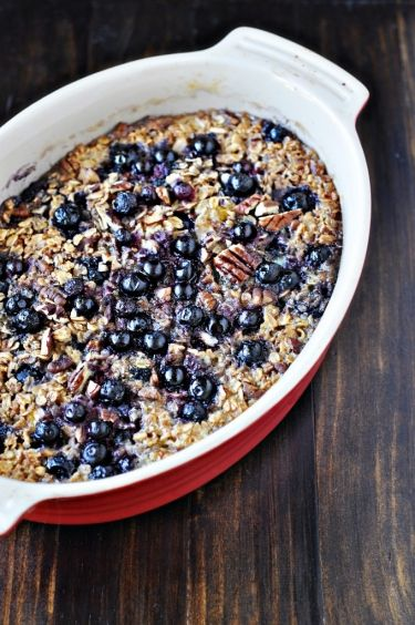 Baked Oatmeal with FruitChampion, Breakfast Brunches, Breakfast Casseroles, Baked Oatmeal, Baking Oatmeal, Baking Fruit Oatmeal, Cooking, Breakfast Recipe, Food Recipe