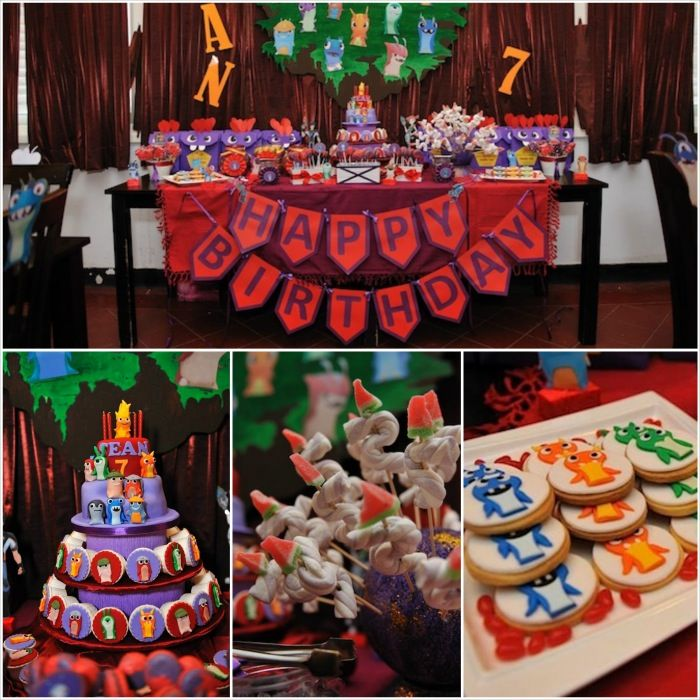 Slugterra Themed 7th Birthday Party with Lots of Awesome Ideas via Kara's Party Ideas | KarasPartyIdeas.com #SlugParty #BoyParty #PartyIdeas...