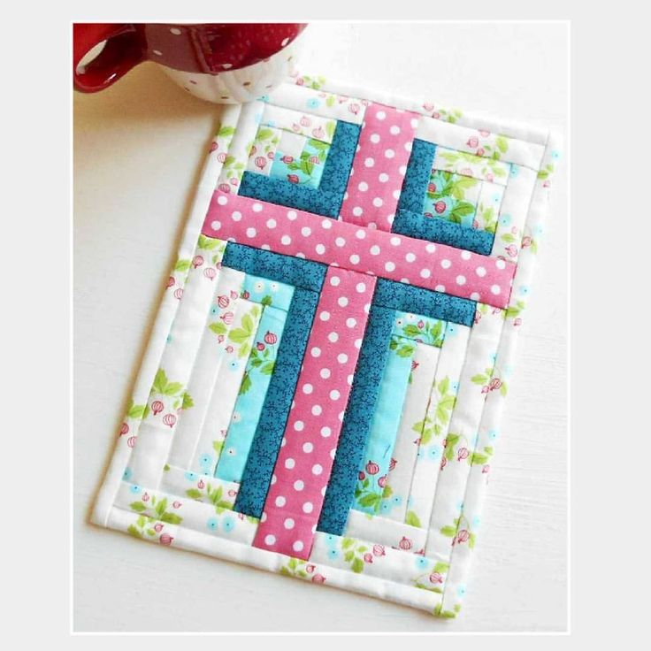 248 Best Quilts Crosses Biblical Images On Pinterest