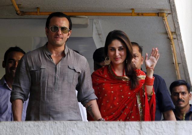 Kareena and Saifs Reception: Elegant Party at Delhi