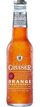 Vodka Cruiser Sunny Orange & Passionfruit 275mL