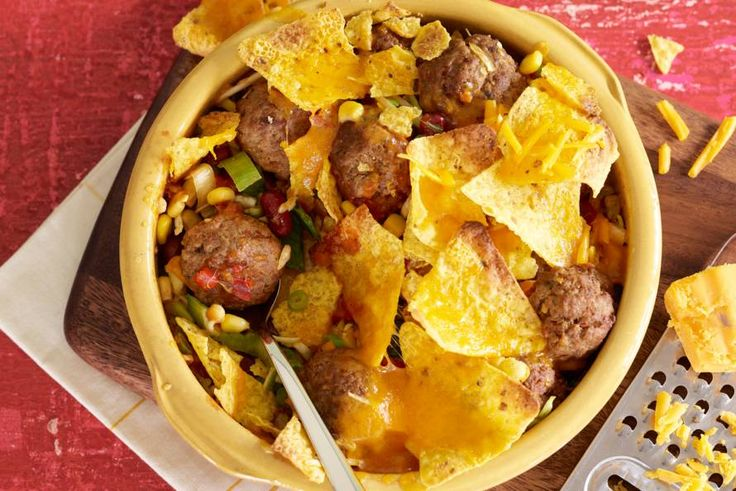 Ovenschotel met Mexicaans gehakt - Recept - Allerhande