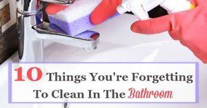 Cleaning the bathroom is not a task many of us absolutely love to do, but it does need to get done. And yes, you need to focus on some of the big jobs when cleaning, including the toilet, sink, and tub...