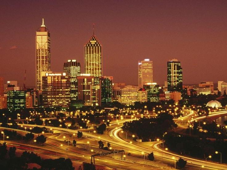 Perth, Western Australia skyline. My favorite city in the world.