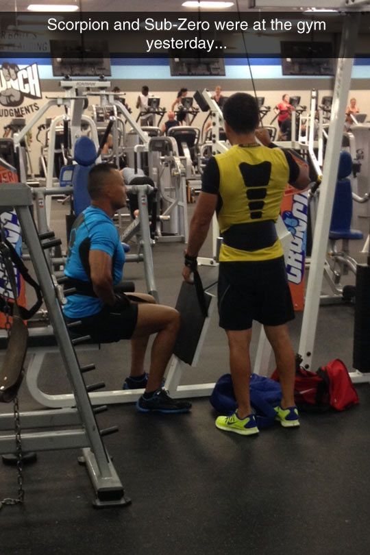 Only the kool kids know about Mortal Kombat's gym