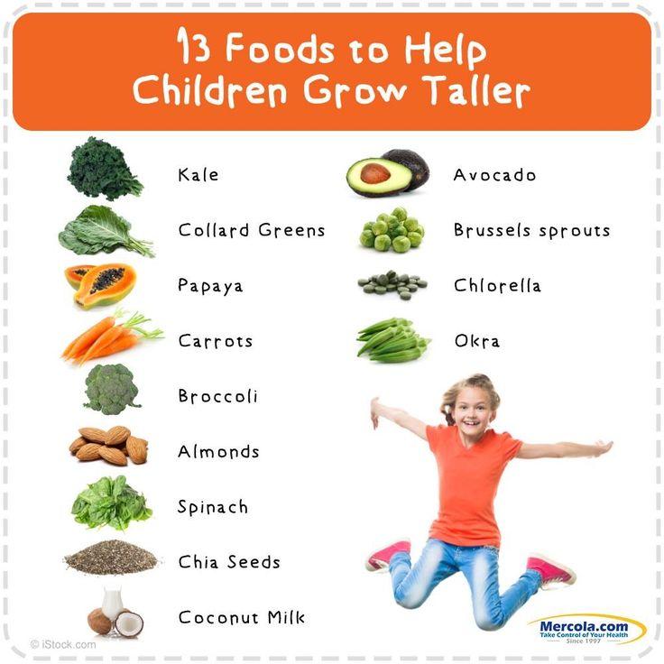 Foods that help Grow taller | Height | Pinterest
