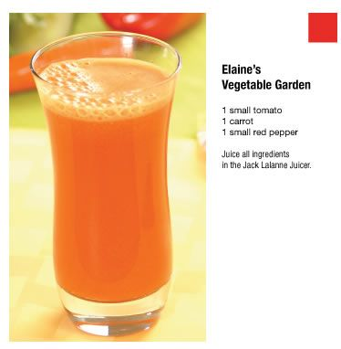 Elaine's Vegetable Garden Jack LaLanne's Power Juicer - Official Website