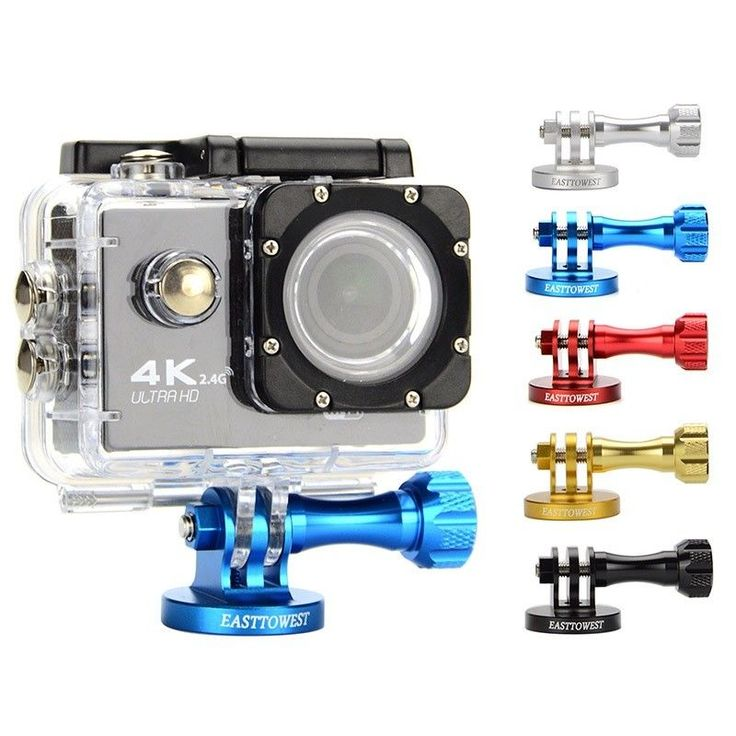 Mount CNC Aluminum Alloy Tripod Adapter for Gopro Hero & action camera
