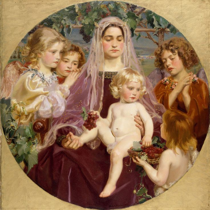 Frederick William MacMonnies (1863–1937) - Madonna of Giverny,1901: The Metropolitan Museum of Art (800x798)