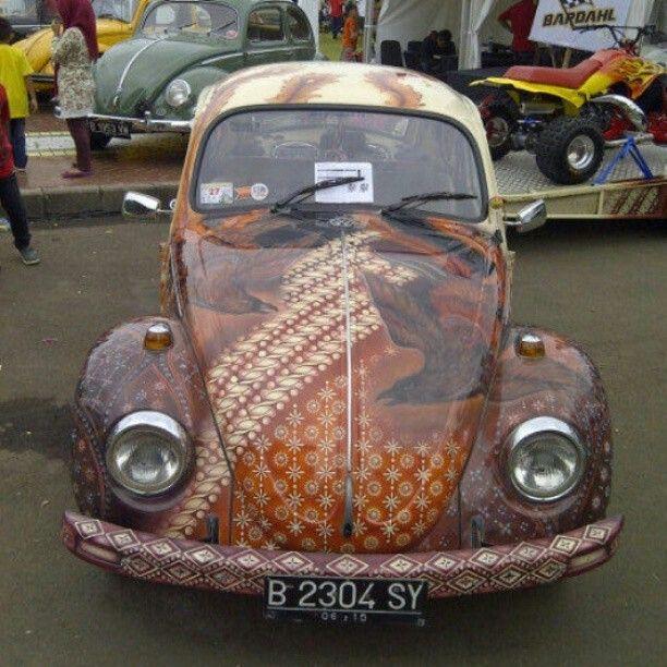 VW kodok batik indonesia