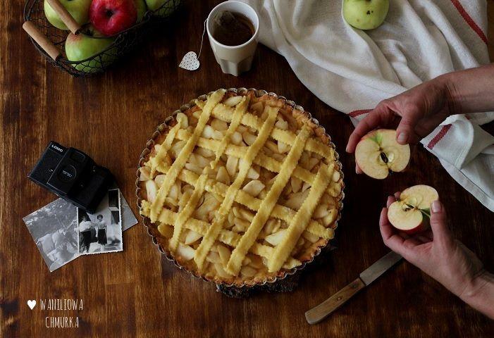 Waniliowa tarta z jabłkami