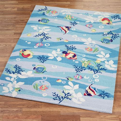 25 best ideas about tropical rugs on pinterest tropical for Fish area rug