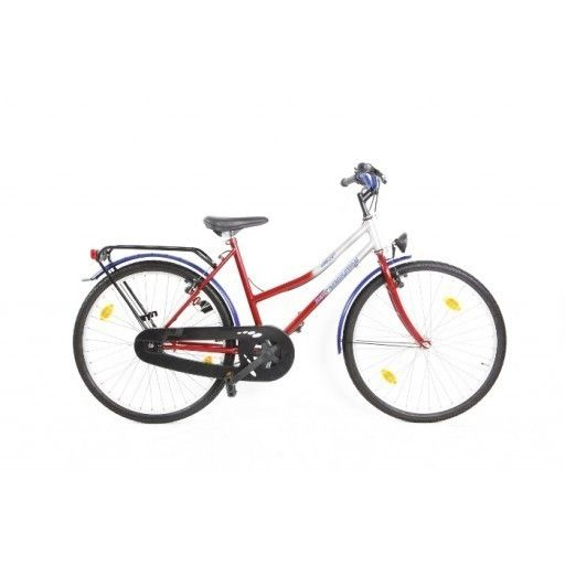 Next Generation ATB 26 inch Zilver-rood  Next Generation ATB26 inch Zilver-rood collectie!  De Next GenerationATB 26 inchis een vrolijke meisjesfiets. Deze fiets is te gebruiken op iedere ondergrond en is geschikt voor meiden tussen de 9-12 jaar oud. Deze fiets is erg stevig door zijn stalen frame en is erg veilig door een handrem én terugtraprem. De Next Generation ATB is nog maar beperkt op voorraad en is direct leverbaar.  EUR 149.00  Meer informatie