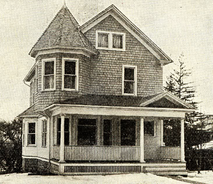Looks a lot like my great grandparents home which was for Victorian kit homes