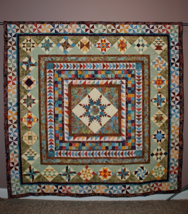 Medallion Quilt. colours x