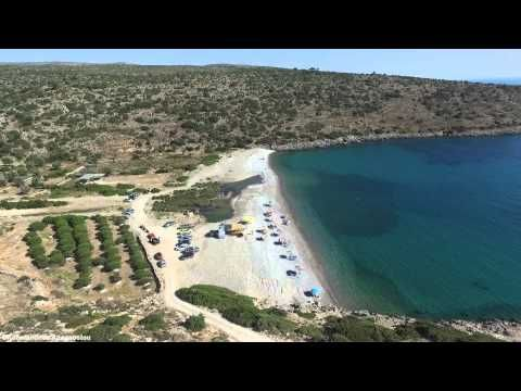Παραλία Σαλάγωνα Χίος - Salagona beach Chios