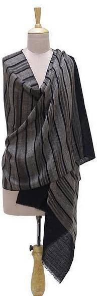 Kashmir Stripes Handwoven Striped Pashmina Cashmere Wool Shawl from India. Shawl fashions. I'm an affiliate marketer. When you click on a link or buy from the retailer, I earn a commission.
