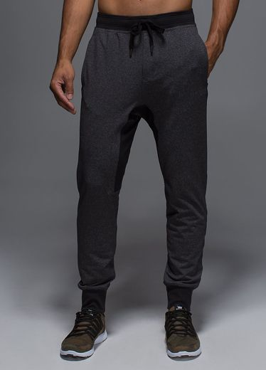 Right now, tailored track pants are as important on men's runways as they are in the weight room. Split the difference here with these slim colorblocked sweats from cult yoga brand Lululemon. Just act fast because these things sell out overnight. Anti-gravity pant ($98) by Lululemon, lululemon.com   - Esquire.com
