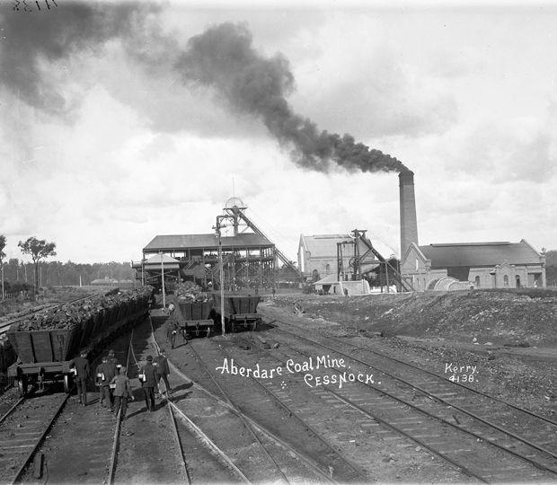 """Aberdare Coal Mine, Cessnock"".  Photo Credit: Kerry & Co"