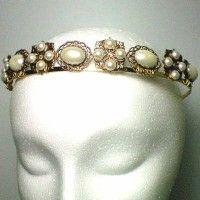 Anne Boleyn Square Pearl Headband