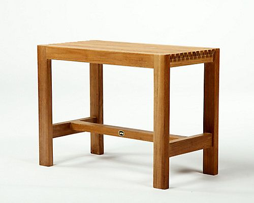 "ARB Teak products are made from responsibly harvested grade A teak - dried to perfection and beautifully finished. We use only the highest quality hardware made from solid brass and stainless steel, meaning no rust. Our Solid Teak Shower Bench is ideal for ""wet"" applications and made to withstand constant water flow. Our Teak Benches are designed to be used in showers, steam rooms or saunas."