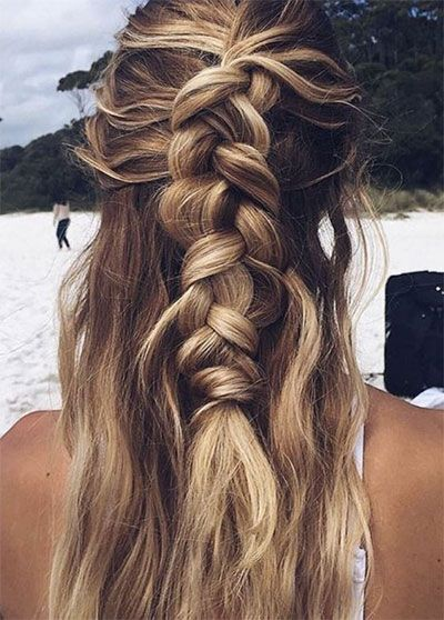 15+ Best Summer Hairstyles, Ideas & Looks for Girls and Women 2017, 15 Best Summer Hairstyles Ideas Looks -For-Girls-Women-2017-2