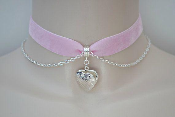 Silver Plated Opening HEART LOCKET With Belcher by TwirlyTrinkets
