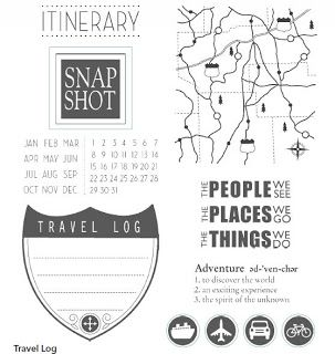 great stamps!! Designs By Dixie: Stampin' Up! Travel Log