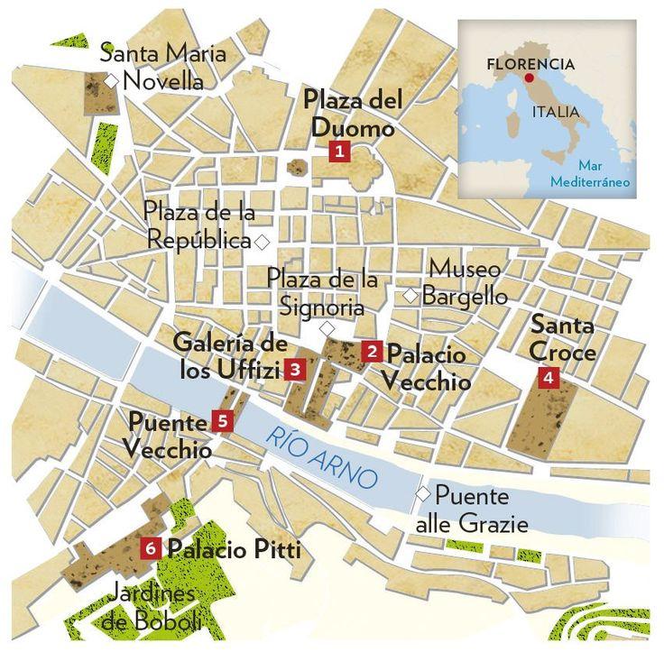 Recorrido por Florencia · National Geographic en español. · Rutas y escapadas