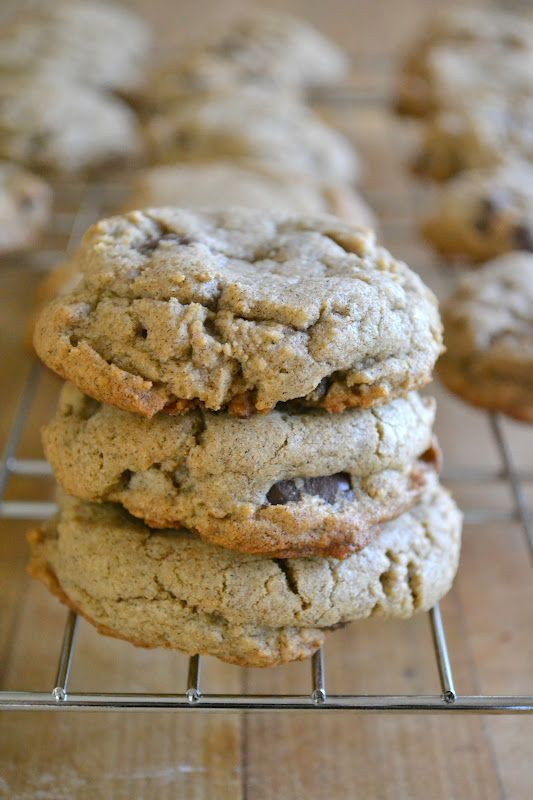 Buckwheat Chocolate Chip Cookies | Cookies | Pinterest
