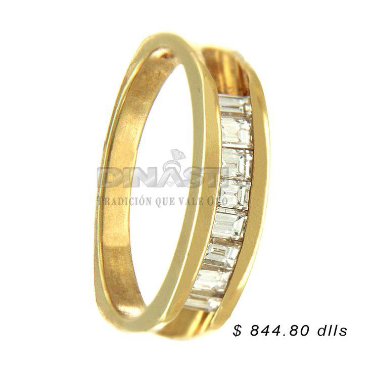 SKU 34948 ARGOLLA CHURUMBELA ORO 14 KTS & BRILLANTES ventas@dinasti.com #dinasti #dinastijoyeria #fashion #jewelry #amor #casorio #marriage #rings #women #matrimonio #argollasdematrimonio #bodas #compromiso #anillodecompromiso #joyería #descuentos #churumbelas #parejas #eventos #tbt #momentos #eshoradedisfrutar