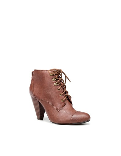 @Metropolisatmet HIGH HEEL ANKLE BOOT WITH LACES from ZARA #Findwhatyoulove
