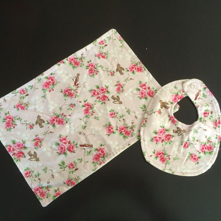 { B A B Y G I R L G I F T S E T } Adorable handmade baby girl gift set including bib and burp cloth. Gorgeous pink floral design, perfect for the little princess! Both bib and burp cloth are soft material with backing. Bib has high quality snap closure and is OSFM. Items are made, ready to ship. https://www.etsy.com/au/listing/268491631/baby-girl-gift-set-bib-burp-cloth #handmade #babygirl #floral #pink #giftset #adorable #saxonandlola
