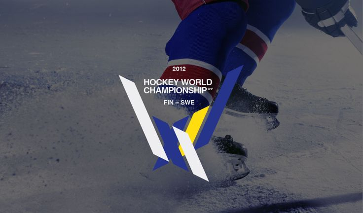 Redesign logga / Hockey VM av fridapihl.se