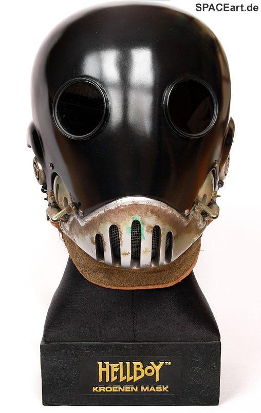 Hellboy: Kroenen Maske, Fertig-Modell ... http://spaceart.de/produkte/hlb002.php