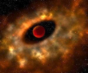 Cosmic dust that formed our planets traced to giant stars During their lifetime, stars around six times larger than the Sun - called Asymptotic Giant Branch or AGB stars - blow off their outer layers, forming an interstellar cloud of gas and dust grains.  Our Solar System is believed to have formed from such a cloud around 4.6 billion years ago