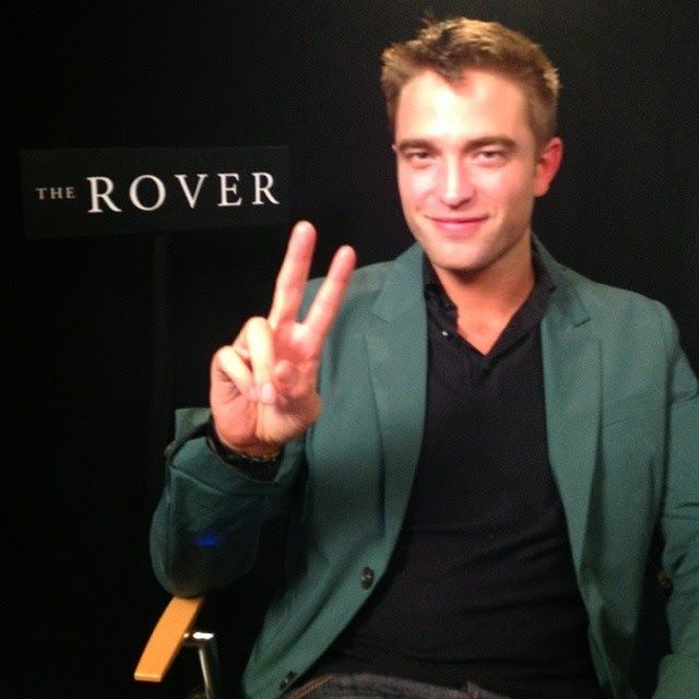Pattinson Art Work: 'The Rover': Pictures of Robert Pattinson from the Press Junket