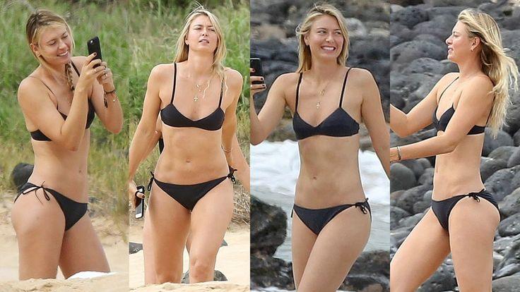 Maria Sharapova Hot Bikini Body 2017