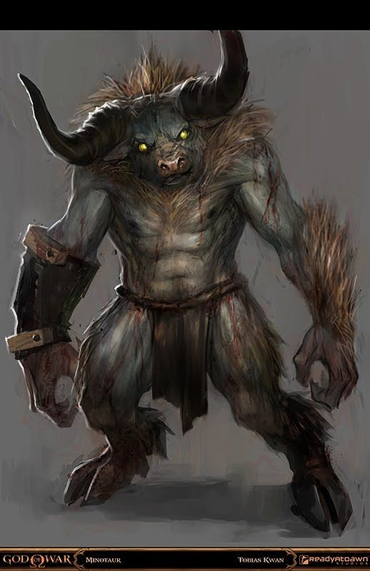 This minotaur image is actually quite fascinating. It makes me want to draw my own fantastic creature. It is very useful for my drawings which are similar to this.