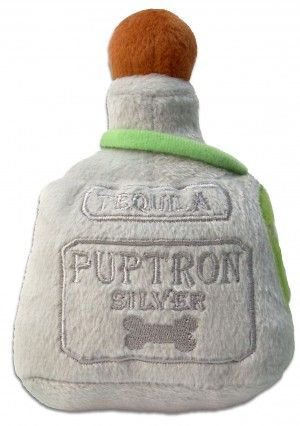 Puptron Tequila Dog Toy from Swanky Pet