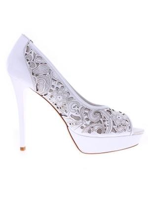 Massimo Zardi pantofi albi pentru dame de la Shopamor