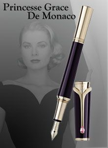 A thing of beauty; discover our collection of Montblanc Writing Instruments in tribute to Grace Kelly - Princess of Monaco