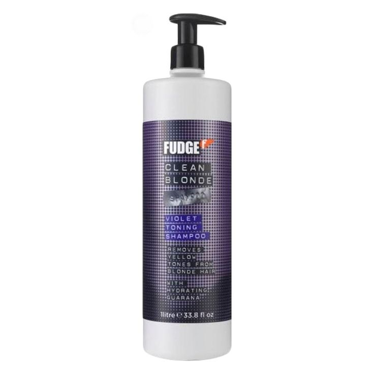 Fudge CLEAN BLONDE shampoo 1000ml (NY)