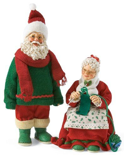 Knitting Patterns Christmas Figures : 1000+ images about Mr.& Mrs. Claus on Pinterest Vintage santas, Vintage...