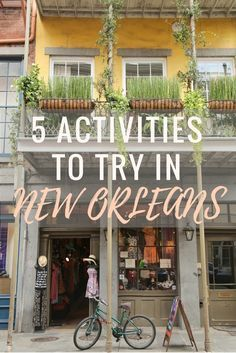 There's more to New Orleans than a sophisticated cocktail scene and extensive culinary playground—it would be a shame to vacation at such a cultural hotbed and not try all the other things to do in New Orleans. So next time you're visiting New Orleans, put these activities on your itinerary as a means to get your heart pumping. Click through to find out the best ways to get out and about in New Orleans. | Camels and Chocolate #neworleans #adventure
