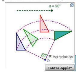 La simetría rotacional. Salvador Caballero Rubio y José Antonio Mora | Calcular. 3º ESO