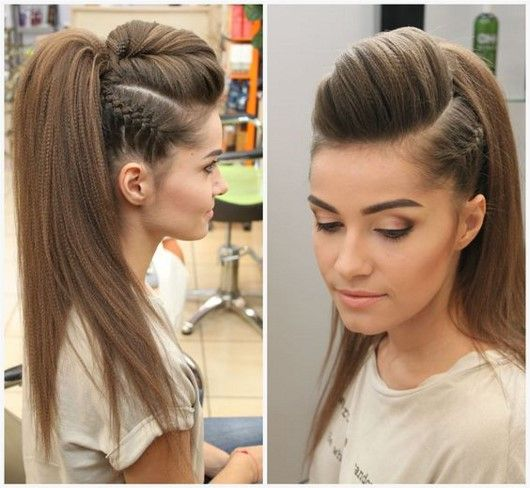 Beautiful makeup hairstyles 2018-2019 best ideas – photo new items