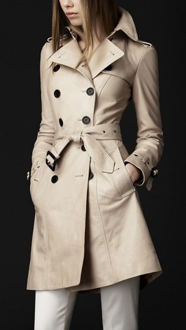 NEW TAILOR MADE Replica Cuir Long Leather Trench Coat Jacket in your measures Co1