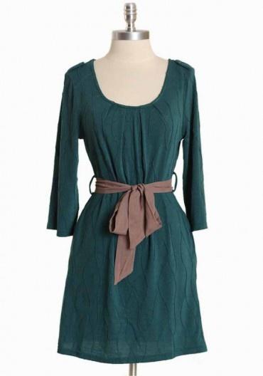 Crossborough Breeze Dress In Teal